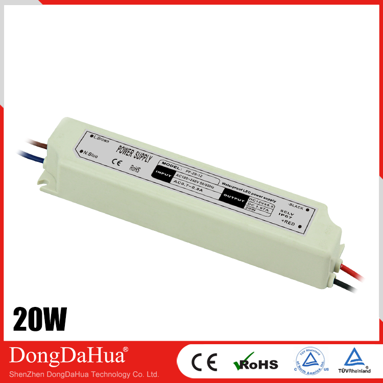 PF Series 20W LED Power Supply